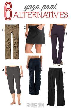 6 best ever Yoga Pant Alternatives | SportsMomSurvivalGuide.com