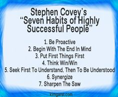 QUOTE OF THE DAY: On Success #stephencovey
