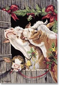 Christmas Card - May your holidays be filled with love.   Joy Campbell   70351   Leanin' Tree