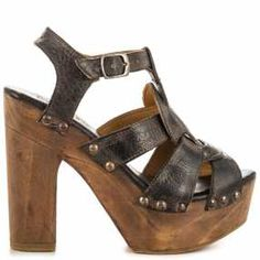 Bed Stu Melissa - Blk R Rust BFS can be purchased from Online Store with Promotional Vouchers and Discount Codes. All About Shoes, Womens High Heels, Shoe Brands, Warm Weather, Designer Shoes, Block Heels, Black Leather, Shoes Heels, Footwear