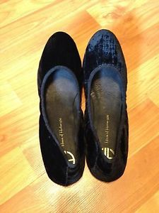 House Of Harlow Flats Baron Black Ballet Slipper Womens Shoe Size 9.5 NEW IN BOX