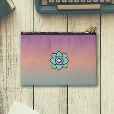 Colorful Studio Zipper Pouch with a flower icon.  - Buy 2 and get 15% off  . - Multiple Sizes.   Shop Now in Redbubble.  #Pouch #zipper #colorful #flower #studiopouch #art #design #cute #love #beautiful #girl #beauty #cool #amazing #girls #flowers #green #purple #pink #rose #redbubble #redbubblecreate #mushroominc.