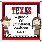 Texas:  Bundle  This Bundle  includes two of my best selling Texas items.  Every elementary Texas classroom will benefit from this bundle.    The ...