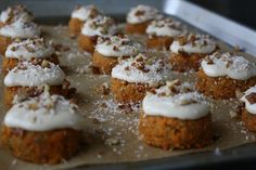 Raw Carrot Cake with Cashew Cream Cheese Frosting from Jessie Monds  10 Delicious Raw Vegan Desserts | Yummly