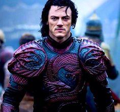 Luke Evans as Dracula, 2014.