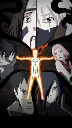 Naruto; Rin, Kakashi, Sasuke, Sakura, Obito, Madara e o Fim de Naruto.
