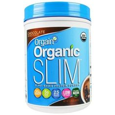 Orgain Organic Slim Plant Based Protein Powder, Chocolate (1x1.02 Lb )
