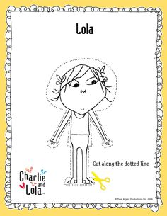 Angie, don't the girls watch this show?  Charlie and Lola paper dolls