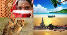Liebe Urlaubspiraten, braucht ihr mal eine richtige Auszeit, wollt euren Jahresurlaub komplett am Stück verbringen oder sucht eine herausfordernde Reise um die halbe Welt? Dann haben wir für euch das perfekte Angebot gefunden. Eine Mischung aus Kulturschock in Indien, Traumstränden auf den Seychellen, Safari in Südafrika und asiatische Gastfreundschaft in Thailand erwartet euch. Alle dafür…