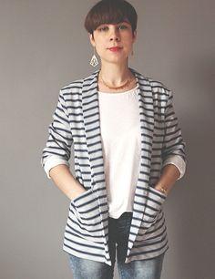 Veste Michelle / Patron de couture www.republiqueduchiffon.com