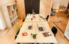 B2B Desks & Shelving - IKEA Style