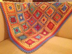Ravelry: sonialena's Granny Square Baby Blanket