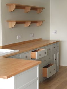 Pics for birch plywood cabinets for Birch veneer kitchen cabinets