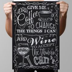 This piece of art features Chalkboard Kitchen Art is crafted for years of enjoyment. This will make you smile every time you look at it and