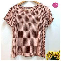 Vamos de blusinha geométrica... <3 #Vemprazas