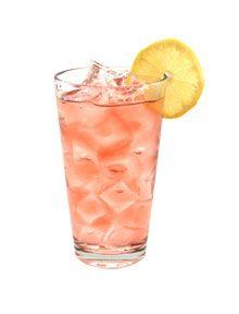 360 Peach Tree Hugger (1 oz 360 Vodka 1 oz Peach Schnapps 30 oz Cranberry Juice Lemon for garnish)