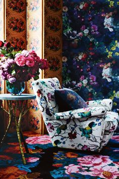 Beautiful use of color, textures and patterns