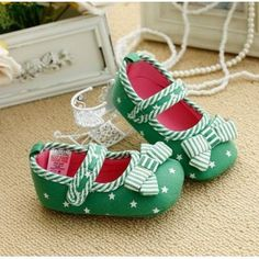Mothercare Baby Girls Shoes Prewalker Baby Infant Shoes Knot Bow Stripes Mary Jane