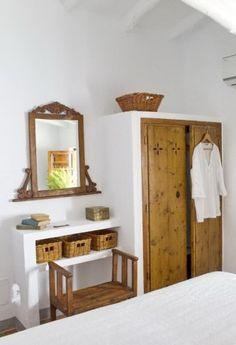 móveis feitos de alvenaria para quarto