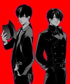 Gintama: Hijikata and Shinsuke