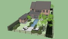 Site Plans, Garden Architecture, Outdoor Rooms, Garden Projects, New Homes, House Design, How To Plan, Base, Gardens