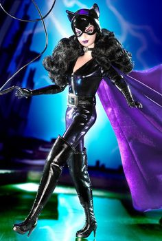 Barbie Doll as Catwoman
