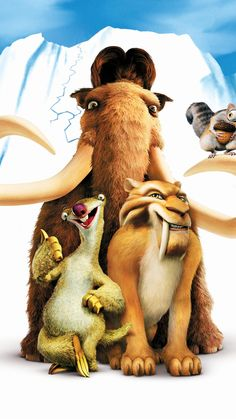 Ice Age complets to Téléchargement in Video Quality Cute Cartoon Wallpapers, Movie Wallpapers, Phone Wallpapers, Animal Wallpaper, Disney Wallpaper, Ice Age Movies, Hd Movies, Cartoon Caracters, Poster Boys