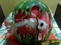 Amazing World: Beautiful Creativity with Watermelon