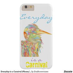 Everyday is a Carnival iPhone/iPad case cover