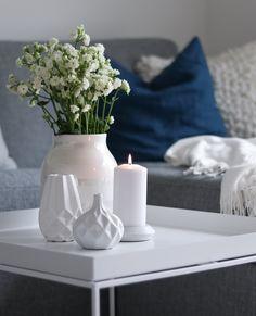 Instagram: @hvitelinjer  #kähler #kahler #blomingville #interior #decor #inspiration #white