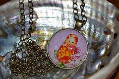 ivamurinova / Náhrdelník Matrioška Pendant Necklace, Jewelry, Jewlery, Jewerly, Schmuck, Jewels, Jewelery, Drop Necklace, Fine Jewelry