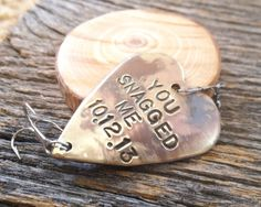 Personalized Gifts for Him Engrave Fishing by CandTCustomLures