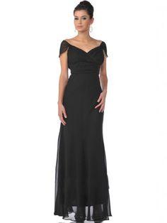 Whatabeautifullife Women's Off-the-Shoulder Cap Sleeve Chiffon Floor-Length Prom Dress Size 10 Color Black Whatabeautifullife,http://www.amazon.com/dp/B00CECX66W/ref=cm_sw_r_pi_dp_LL4dsb101Z30RH0X