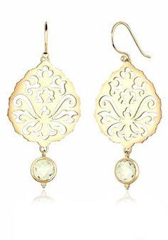 Elli Ohrringe »Blatt 925 Sterling Silber vergoldet« online kaufen | OTTO