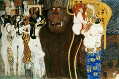 Gustav Klimt's - Beethoven Frieze