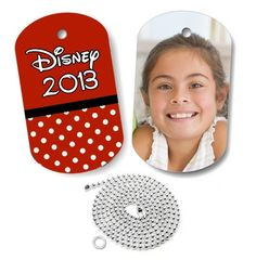 Dixie Midwest - Minnie Mouse Inspired Photo Dog Tag, $12.50 (http://www.dixiemidwest.com/minnie-mouse-themed-photo-dog-tag/)