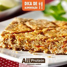 EMPADÃO PROTEICO DE GRÃO DE BICO!  Rico em fibras, ferro, cálcio, vitaminas do complexo B, o grão de bico também é proteico, já que ele apresenta, em média, 20% de sua composição total de pura proteína. Então segue uma receitinha proteica com grão de bico:  INGREDIENTES 3 xíc. (chá) de grão de bico...
