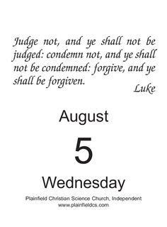 Daily Calendar, Forgiveness, Wednesday, Science, Science Comics