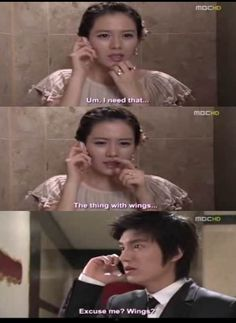 Personal Taste!!! THIS IS LITERALLY THE FUNNIEST PART IN THE WHOLE DRAMA!! HAHAHAHA!!
