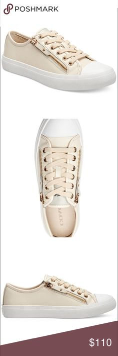 Coach Zip Lace-Up Sneakers Coach Zip Lace-Up Sneakers Coach Shoes Sneakers