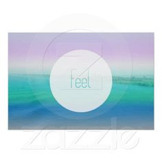 Feel soft color gradient water beach