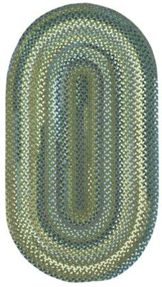 Homecoming style rug in green pastures #capelrugs