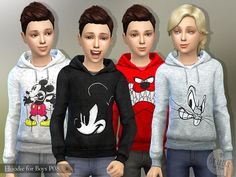 lillka's Hoodie for Boys P08
