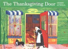 The Thanksgiving Door by Debby Atwell http://www.amazon.com/dp/0618771247/ref=cm_sw_r_pi_dp_j2ayub1SMC5KX
