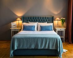 Headboard Paris  - a cosy feel