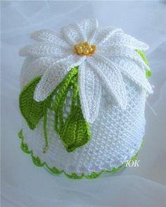 AS RECEITAS DE CROCHÊ: Porta papel higienico em croche