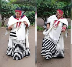 Xhosa Attire, African Attire, African Traditional Wear, Traditional Clothes, African Dresses For Women, African Design, African Fashion, Fashion Dresses, Wedding Dresses