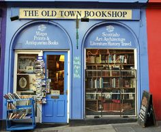The Old Town Bookshop | Edinburgh May have to give this a serious look.........