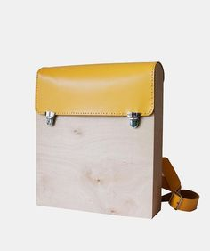 GRAV GRAV - Wood Backpack $170