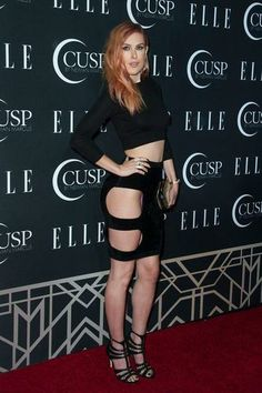 Rumer Willis Wears Dress With Very Revealing Cutouts | StyleCaster